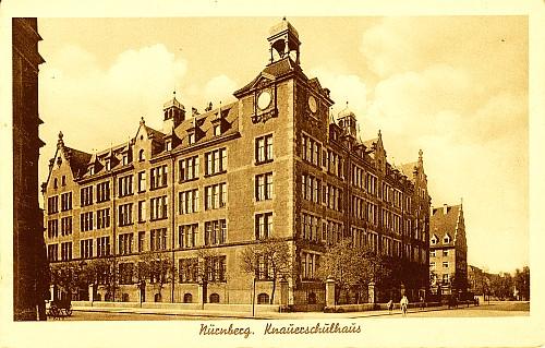 Foro: Knauerschule im Jahr 1901