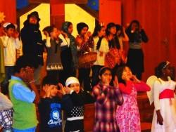 Foto vom Weihnachts-Auftritt 2013