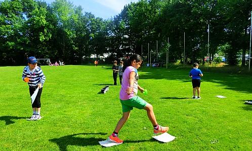 Foto  vom Sport- und Spilefest 2015