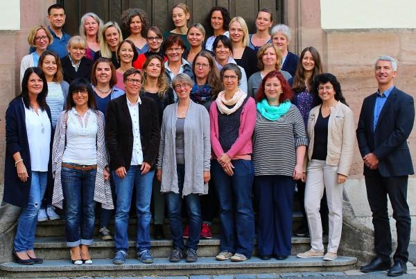 Die LehrerInnen der Knauerschule